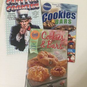 Cookie and Cookie bar Cookbook booklets 3